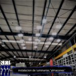 Industrial lighting array